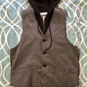 Foreign exchange hoodie vest size M